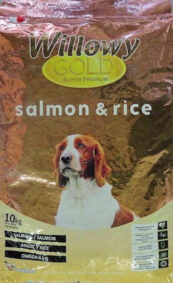 Willowy Gold Salmon & Rice