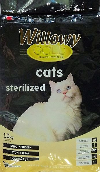 Willowy Gold Sterilized Cats
