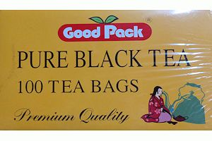 Teas in tea bag without sachet