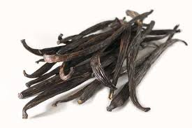 Dried vanilla sticks