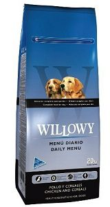 Willowy Daily Menu